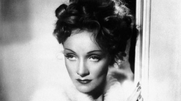 Portrait von Marlene Dietrich