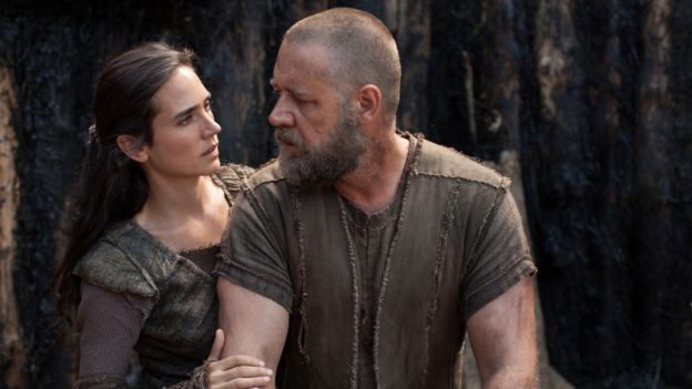 Jennifer Connelly und Russell Crowe in «Noah»