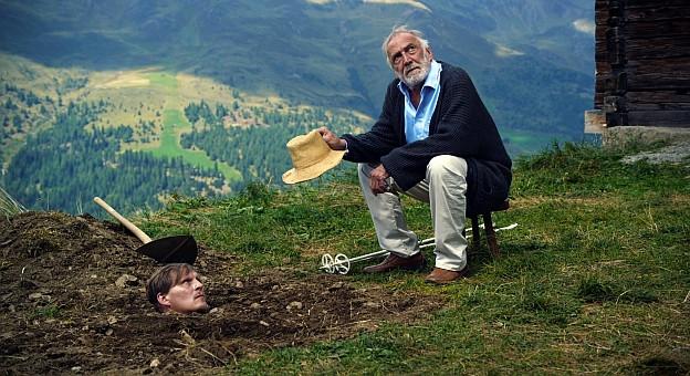 Georg Friedrich und André Wilms in «Über-Ich und Du»