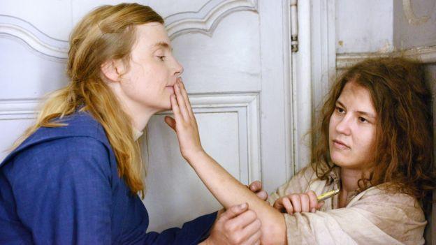 Die Nonne Marguerite mit Marie Heurtin