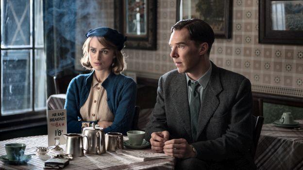 Keira Knightley und Benedict Cumberbatch in «The Imitation Game»