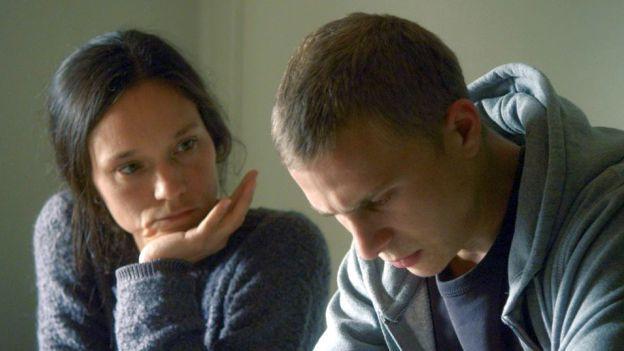 Sabine Timoteo und Max Hubacher in «Driften»