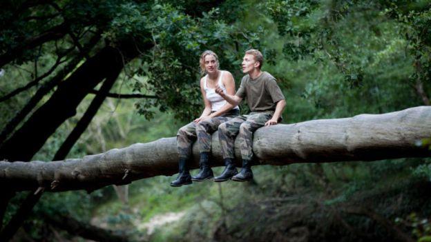 Adèle Haenel und Kévin Azaïs in «Les Combattants»