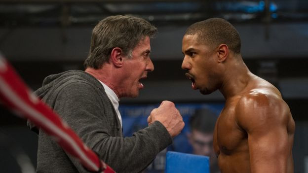 Sylvester Stallone und Michael B. Jordan in «Creed»