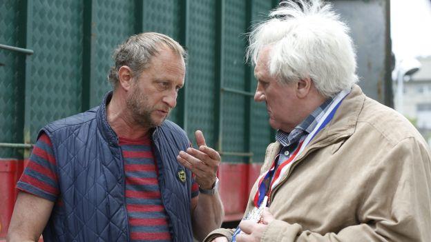 Benoit Poelvoorde, Gérard Depardieu in «Saint Amour»