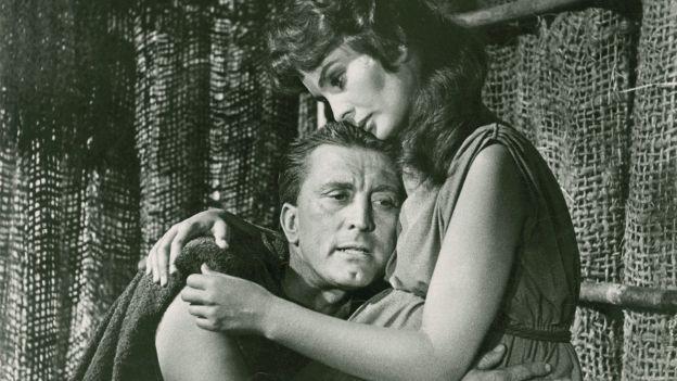 Kirk Douglas und Jean Simmons in «Spartacus»