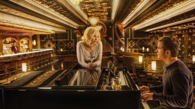 Jennifer Lawrence und Chris Pratt in «Passengers»