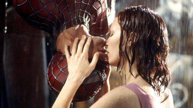 Upside Down: Filmkuss aus Sam Raimis «Spiderman» aus dem Jahr 2002