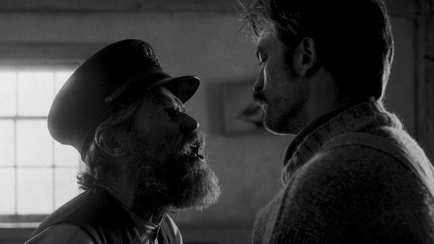 Willem Dafoe und Robert Pattinson in «The Lighthouse»