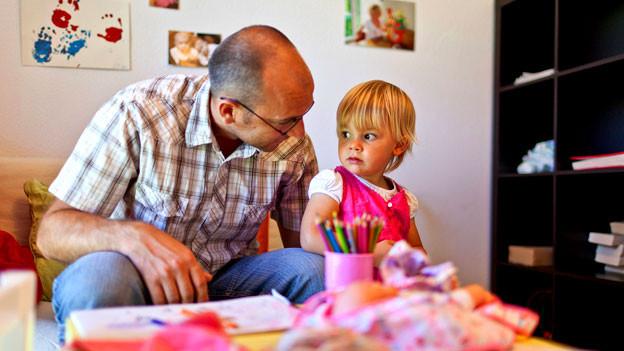 Eltern sollen die Kinder altersgerecht über Krebs aufklären.