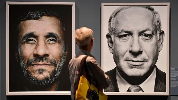 Der griechische Fotograf Platon Antoniou hat für die Photokina 2012 Iran und Israel etwas näher als gewohnt zusammengerückt.