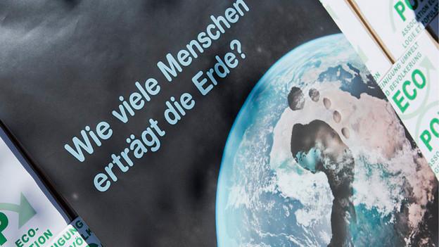 Plakat der «Ecopop»-Initiative.