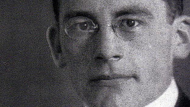 Carl Schmitt als Student im Jahr 1912.