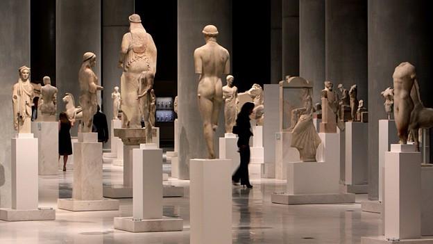 Das neue Akropolis-Museum in Athen bei der Eröffnung im Jahr 2009.