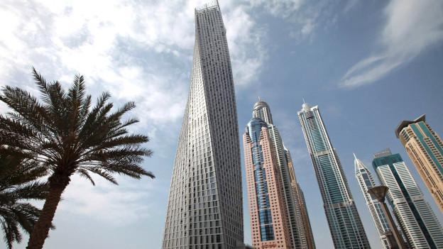 Hohes und teures, aber unsoziales Bauen – hier in Dubai.