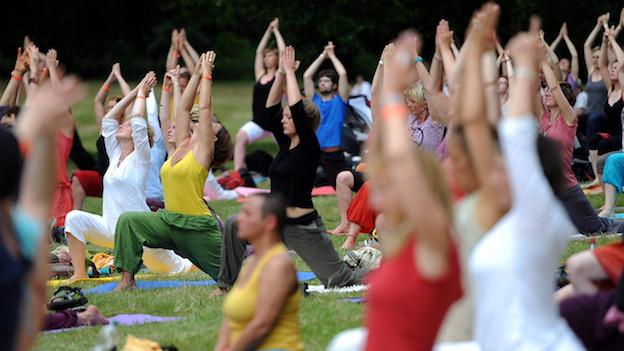 Yoga: nicht nur zur Entspannung gut.