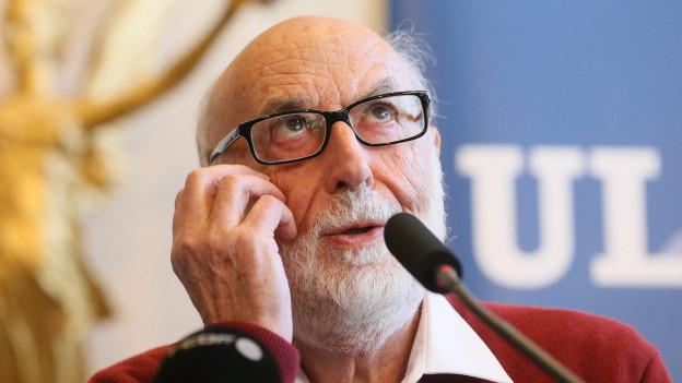 Einer der Physik-Nobelpreis-Gewinner: François Englert.