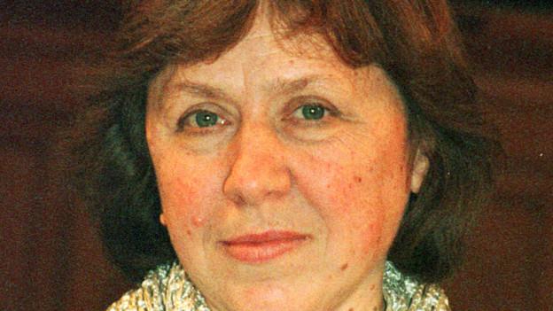 Die weissrussische Schriftstellerin Swetlana Alexijewitsch.