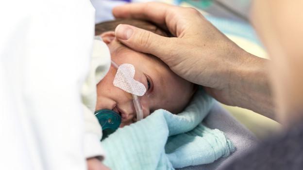 Für kranke Kinder ist das erste Jahr das gefährlichste.