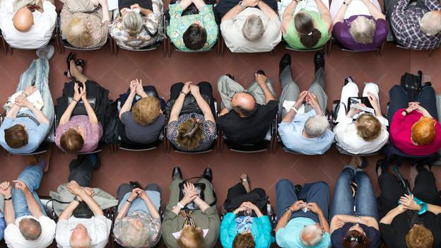 Einwanderer aus Italien und Spanien trafen sich am 21. Mai 2011 in Zürich.