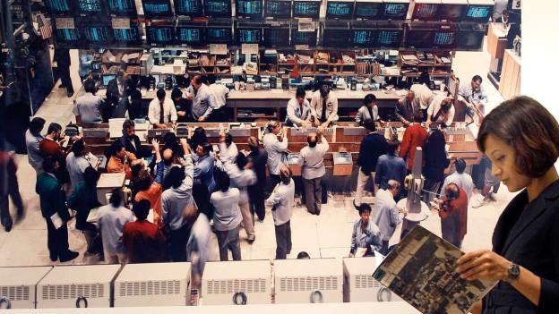 Bild «New York Mercantile Exchange» von Andreas Gursky an einer Auktion.