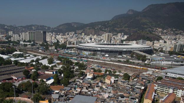 Das Maracanã-Stadion in Rio.