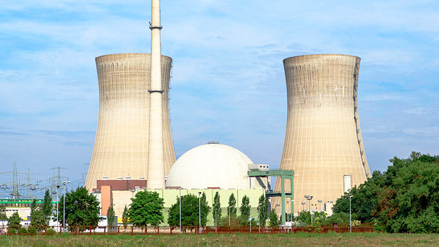 Das Atomkrafwerk Grafnrheinfeld.