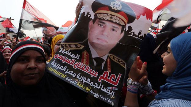 Nach der Wahl von General Abdel Fattah-el Sisi zum ägyptischen Präsidenten, 3. Juni 2014.