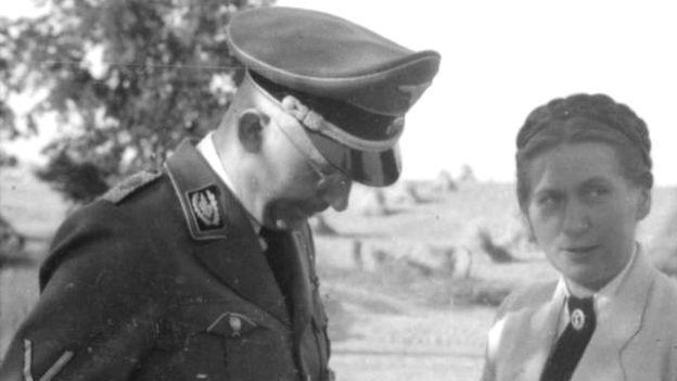 Gertrud Scholtz-Klink im Porträt.