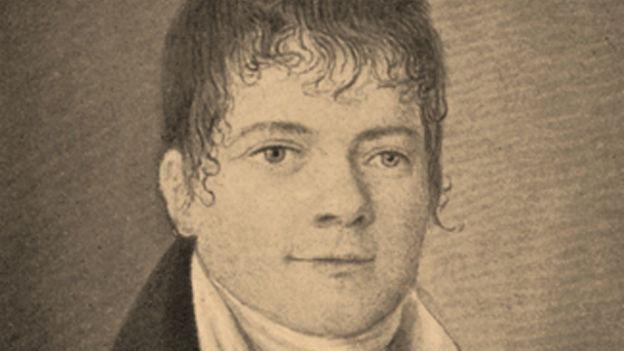 Heinrich Hössli im Porträt.