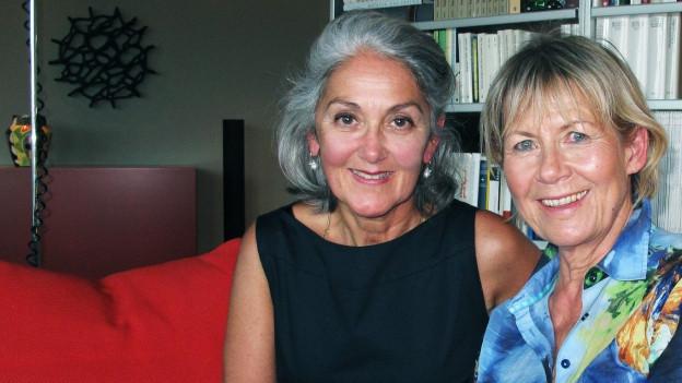 Mona Birchler, Redetrainerin (l.) und Karin Wilkening, Gerontopsychologin.