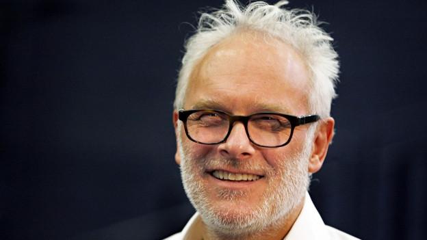 Porträt des Theaterregisseur Herbert Fritsch