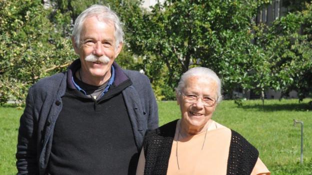 Porträt der Gäste Martin Weber und Schwerster Augusta.