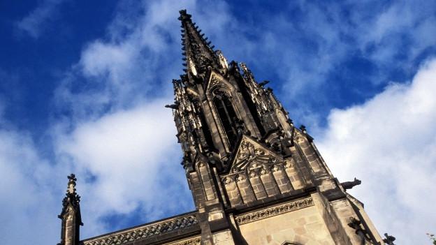Die Elisabethenkirche in Basel ist Monika Hungerbühlers Wirkunststätte.