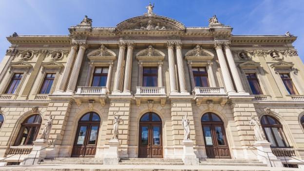 Das Opernhaus in Genf