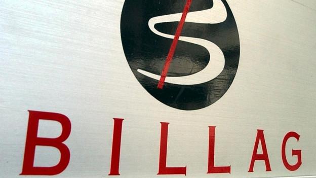 Foto von dem Billag Logo.