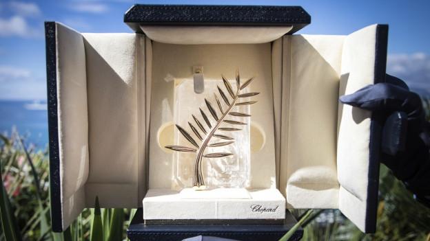 Die Goldene Palme des Filmfestivals von Cannes
