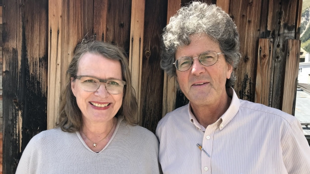 Anna Saarinen und Ramon Zangger