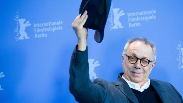 Dieter Kosslick zieht den Hut