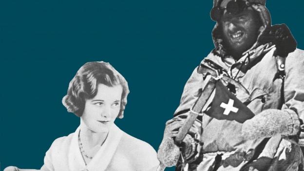 Schwarz-Weiss-Bild-Collage