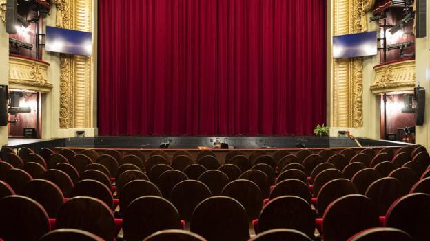 Leerer Opernsaal