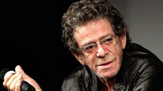Lou Reed 2010 in Nyon.