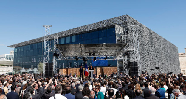 Das MuCEM eierte am 4. Juni 2013 in Marseille Eröffnung.