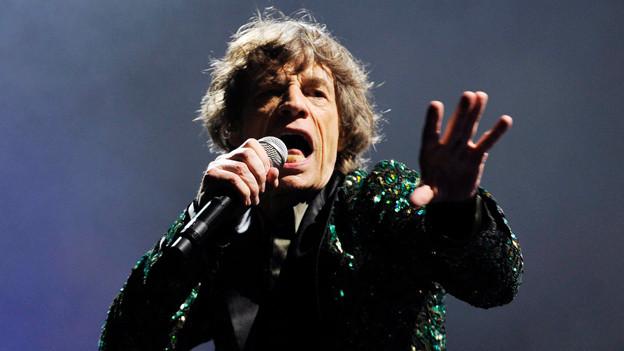 Mick Jagger wurde am 26. Juli 1943 in Datford, England geboren.