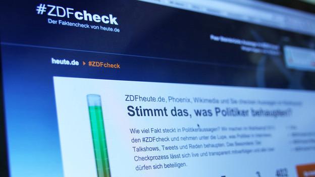 Seit Mai diesen Jahres prüfen ZDF-Journalisten und ihre Zuschauerinnen und Zuschauer Politikerbehauptungen auf ihren Wahrheitsgehalt.