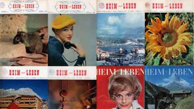 Cover der Zeitschrift «Heim und Leben».