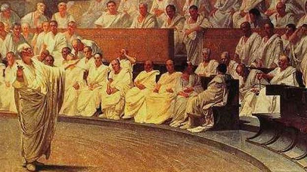 Schon der römische Philosoph Cicero fragte sich: Wann ist ein Krieg gerecht?