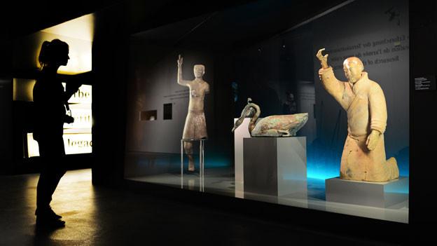 Die Ausstellung «Qin» im Kunstmuseum Bern wurde von der UBS gesponsert.