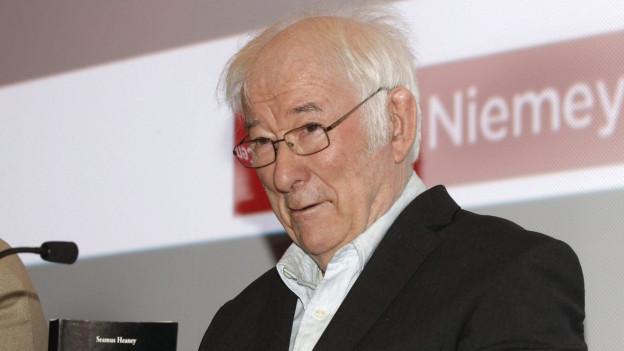 Schriftsteller Seamus Heaney.