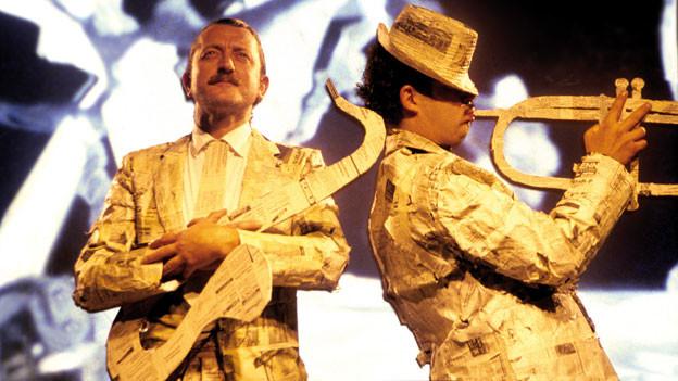Dieter Meier mit Yello 1988.